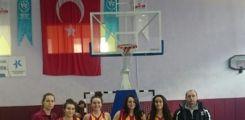 Liseli Genç Kızlar Basketbol Takımımız İlçe Şampiyonu !