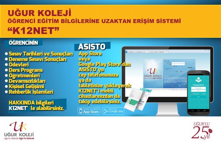 Öğrenci Bilgilerine Uzaktan Erişim Sistemi K12NET 'ne Nasıl Erişilir ?