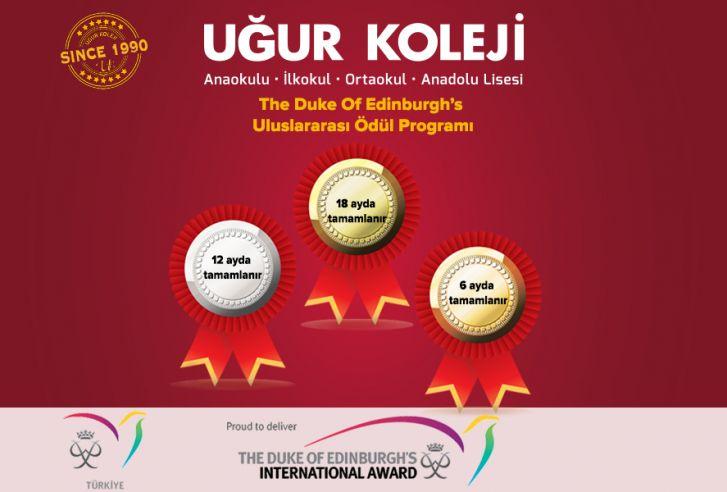 The Duke of Edinburg's Uluslararası Ödül Programı Resmi Katılımcısı