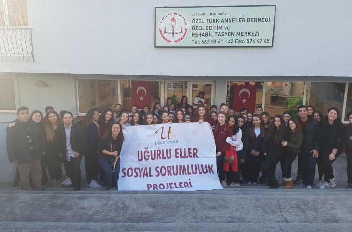 Uğurlu Eller Türk Anneler Derneği Ziyaretinde
