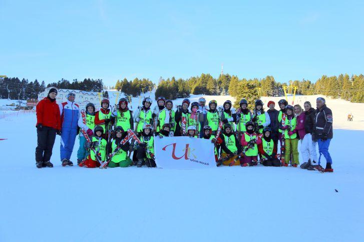 Öğrencilerimiz Kayak Kampındaydı