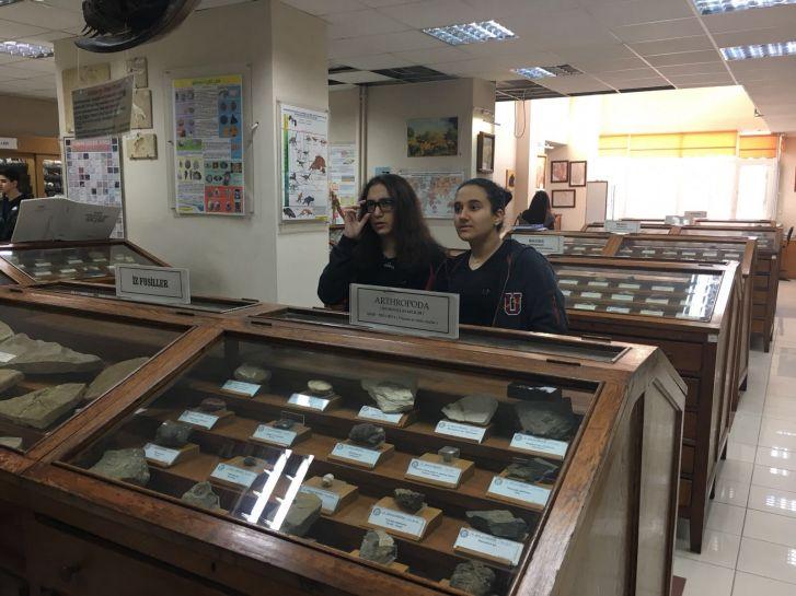 Jeoloji Müzesi Gezisi