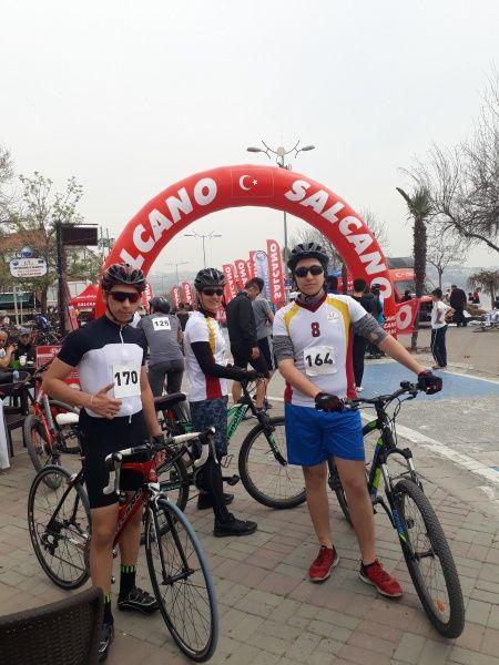 İl Bisiklet Yarışlarında Dördüncü Uğur Koleji'nden