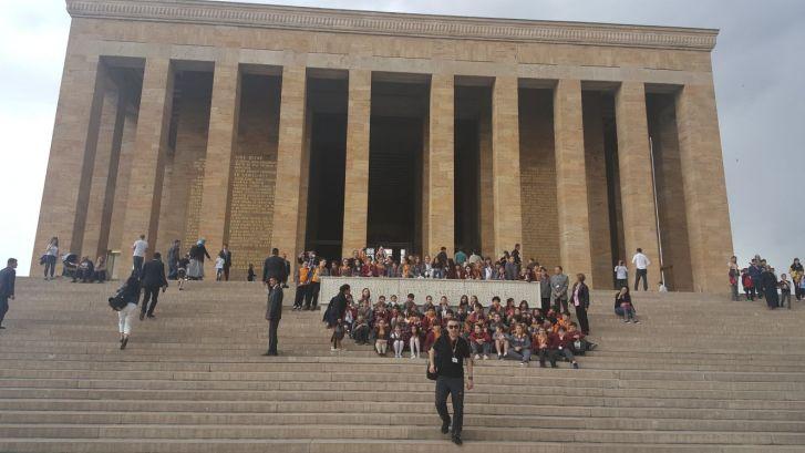 Öğrencilerimiz Ankara Gezisinde