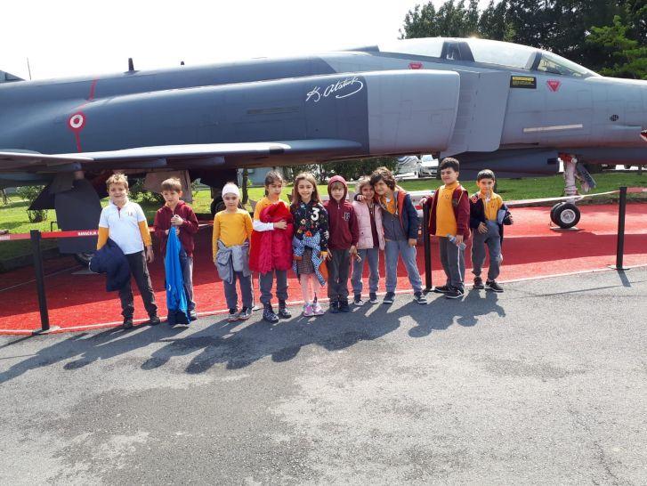 1. Sınıflar Yeşilköy Havacılık Müzesi'nde