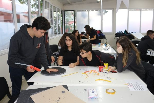 Anadolu Lisemizde STEM - ART Çalışması