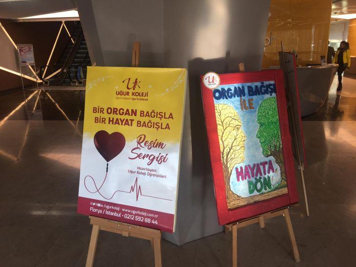 Bir Organ Bağışla Bir Hayat Bağışla Resim Sergisi Medical Park Florya'da