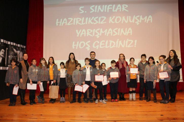 5. Sınıflar Hazırlıksız Konuşma Yarışmasında