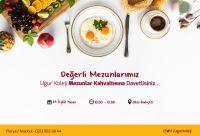 29 Eylül'de Mezunlar Kahvaltısı'nda Buluşuyoruz