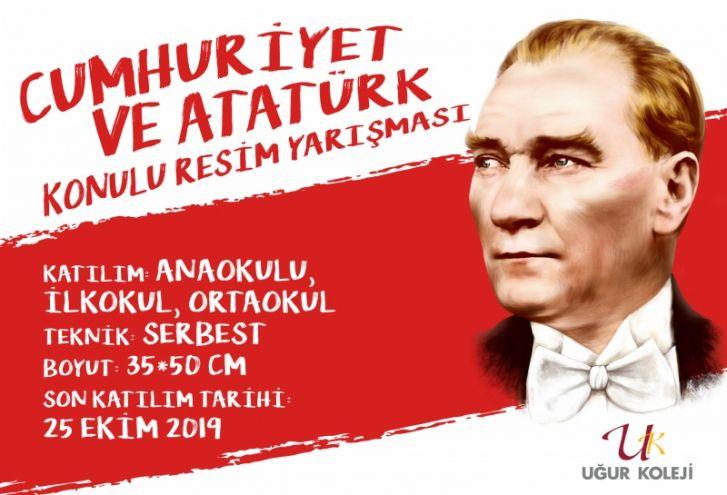 Cumhuriyet ve Atatürk Konulu Resim Yarışması