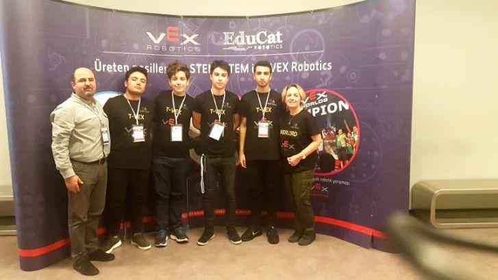 Robotik Kulübü Takımımız T-Vex'ten Türkiye Şampiyonasında Büyük Başarı…