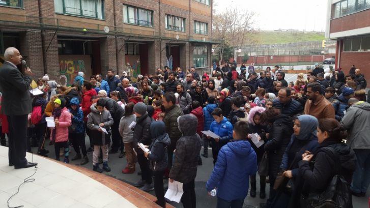 Bursluluk ve Kabul Sınavı 4 Ocak'ta Okulumuzda Yapıldı
