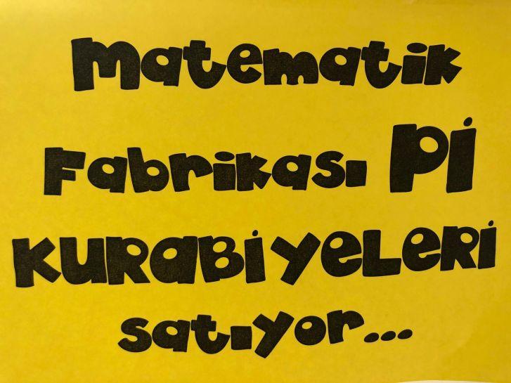 Matematik Fabrikası Pi gününüzü kutlar!