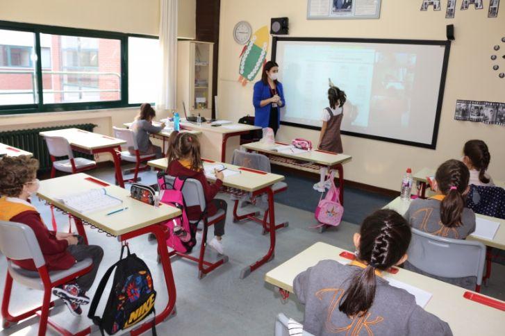 2, 3 ve 4. Sınıflar Okula Döndü!