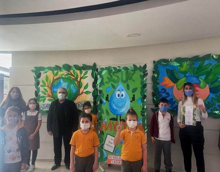 Öğrencilerimiz TEMA Vakfı ile İşbirliği Yaparak Gaziantep ve Elazığ'daki Ormanlara Fidan Bağışında Bulundu