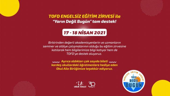 TOFD ENGELSİZ EĞİTİM ZİRVESİ