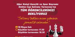 Uğur Koleji Gençlik ve Spor Bayramı Online Cup Satranç Turnuvası