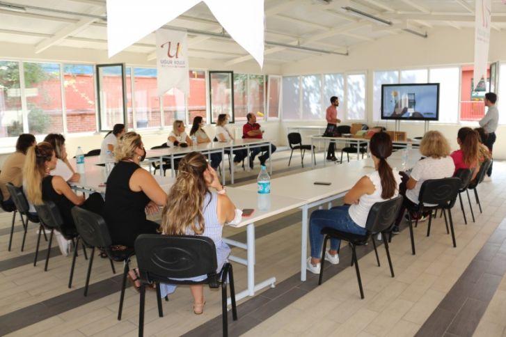 Florya Uğur Koleji Anaokulu ve İlkokulu öğretmenlerimiz STEMBOX Atölyesinde