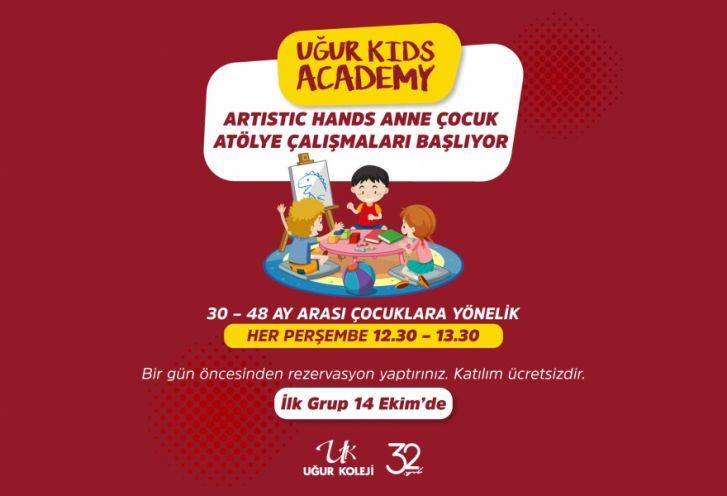 Artistic Hands Anne Baba Okulu Atölye Çalışmaları Başlıyor